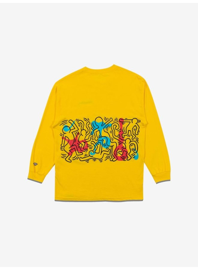 x Keith Haring Rhythm and Motion L/S T-Shirt