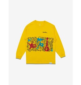 Diamond Supply x Keith Haring Rhythm and Motion L/S T-Shirt