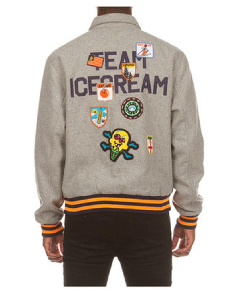 Ice Cream Copper Varsity Jacket
