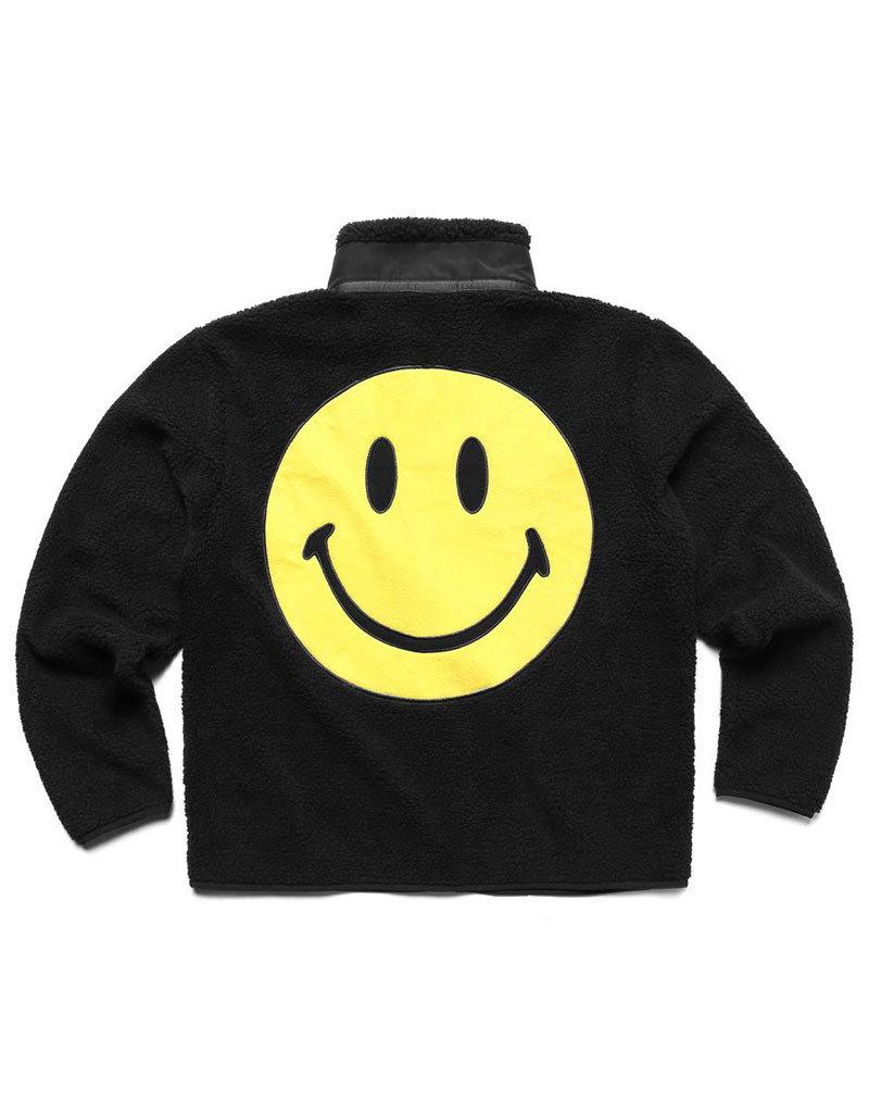 Chinatown Market Smiley Sherpa Jacket