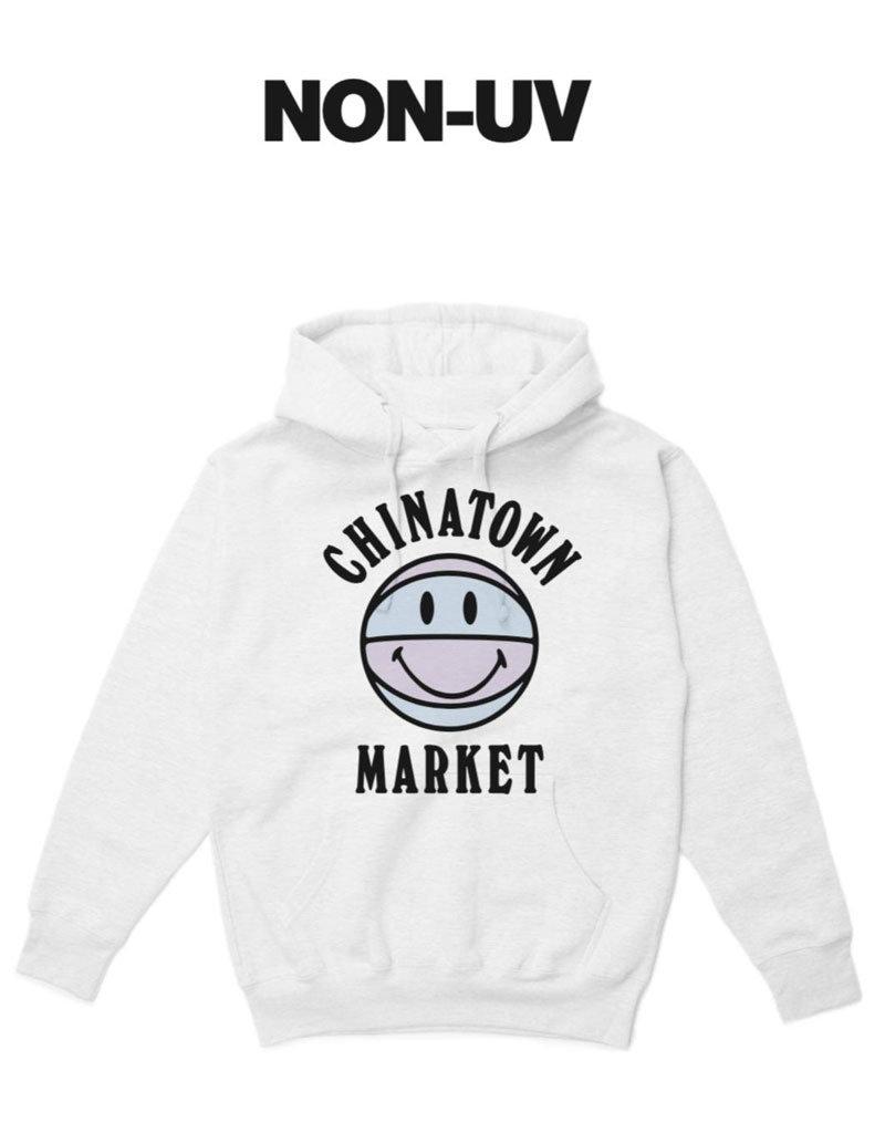 Chinatown Market UV Smiley BBall Hoodie
