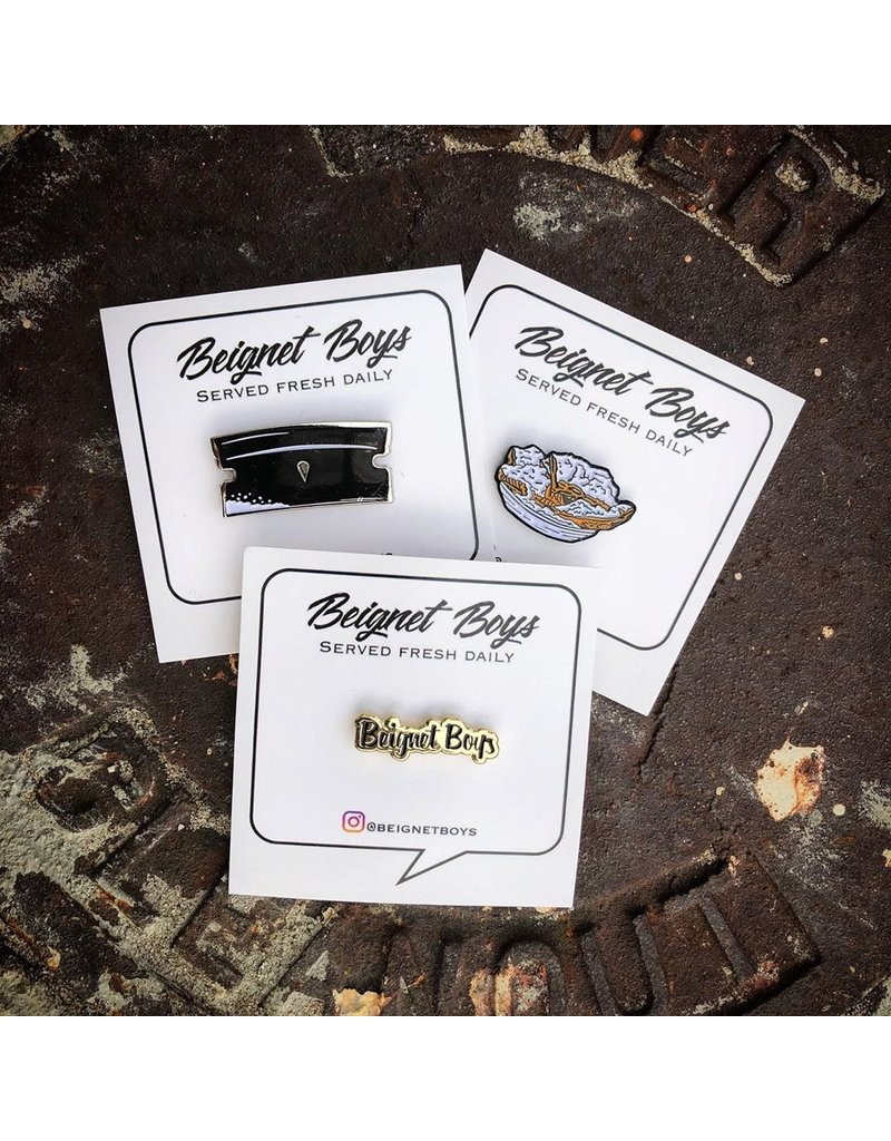 Beignet Boys Razor Pin