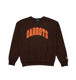 Carrots Collegiate Wordmark Crewneck