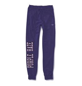 Purple Haze Chenille Patch Sweatpants