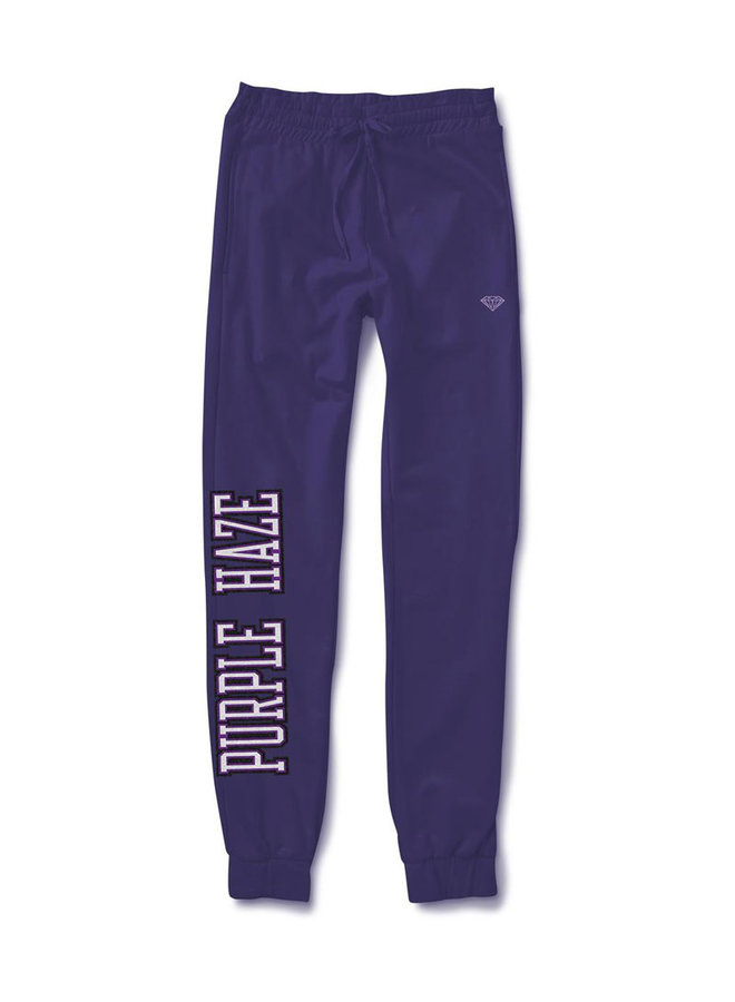 Purple Haze Chenille Patch Sweatpants