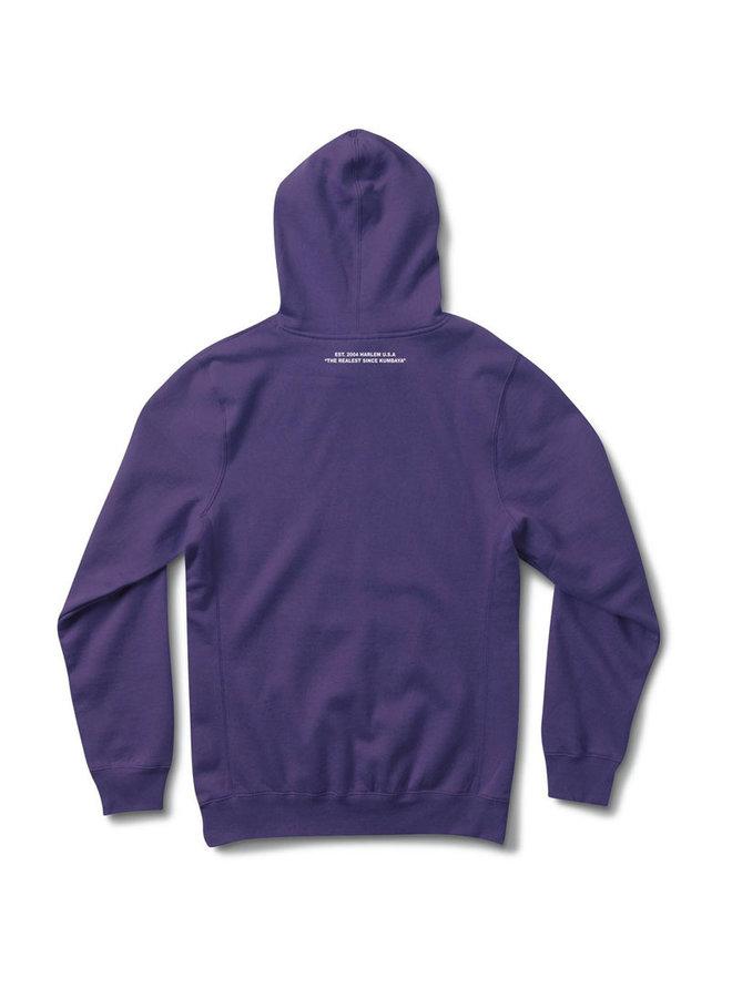 Purple Haze Chenille Patch Hoodie