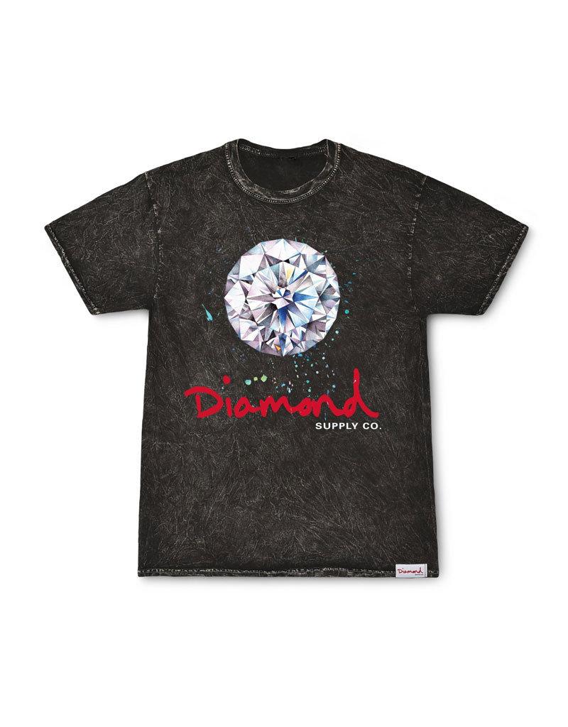 Splash Sign Mineral Wash T-Shirt