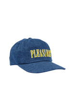 Pleasures Core Logo Denim Snapback