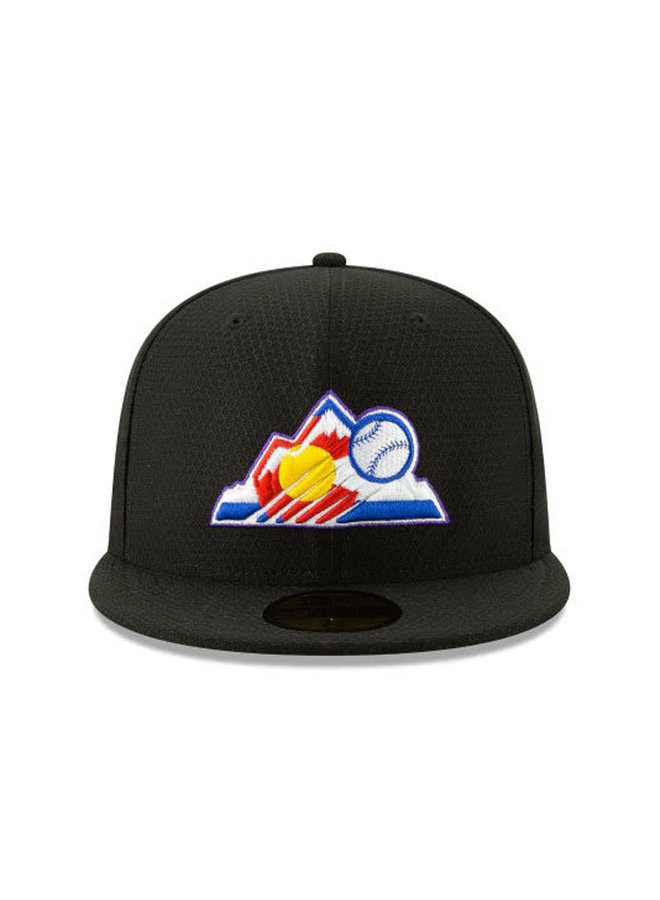 Colorado Rockies MLB19 Batting Practice 5950 Fitted