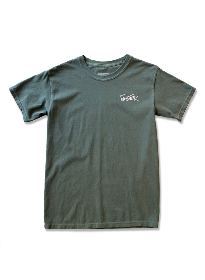 Script Embroidered Tee