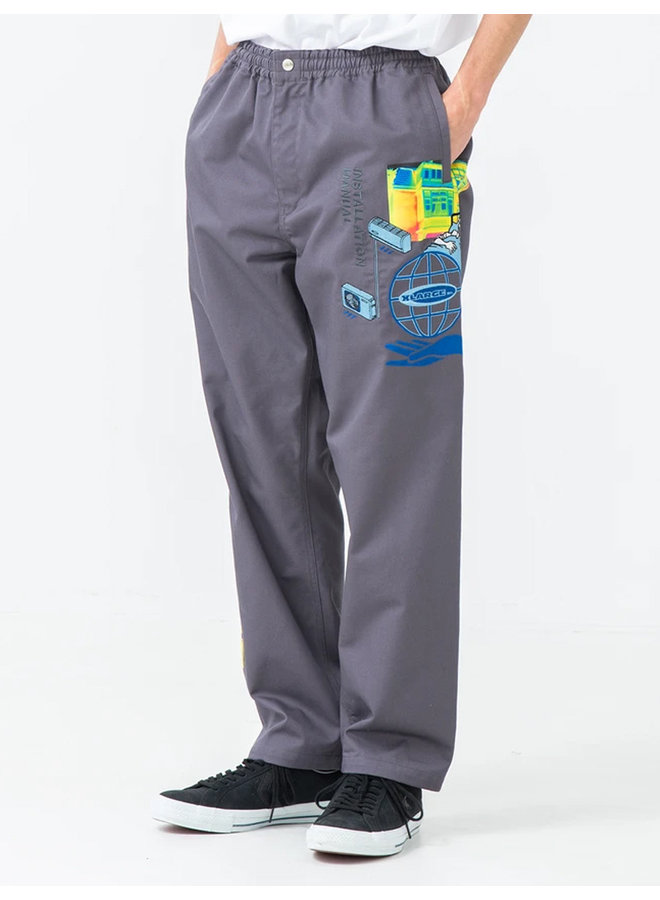 Embroidery Work Pants