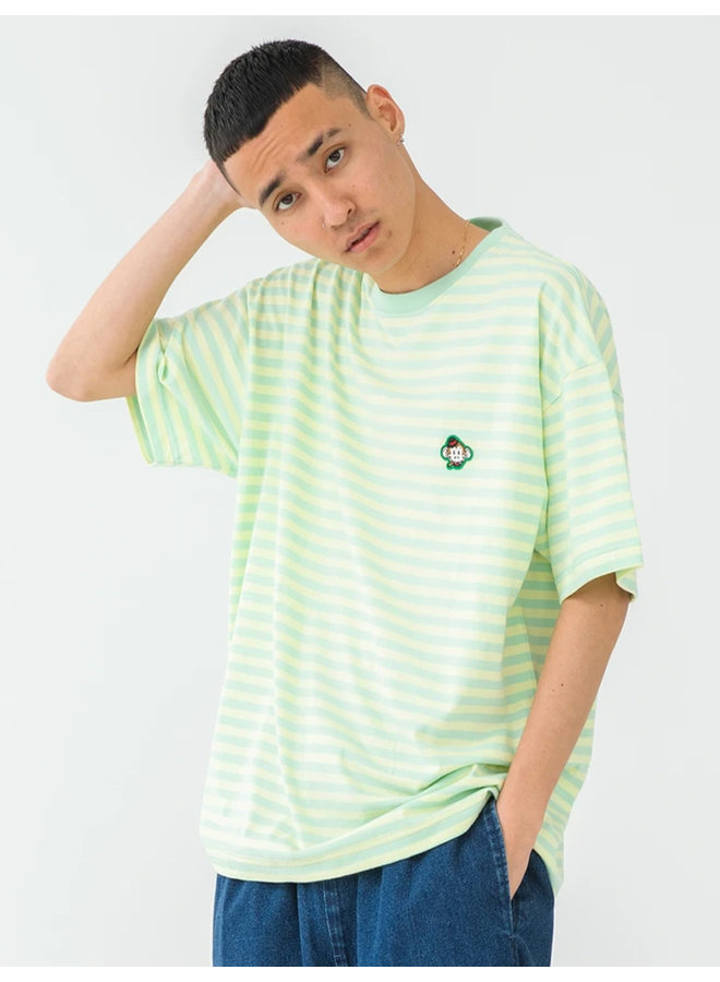 Embroidery Keith Border T-Shirt