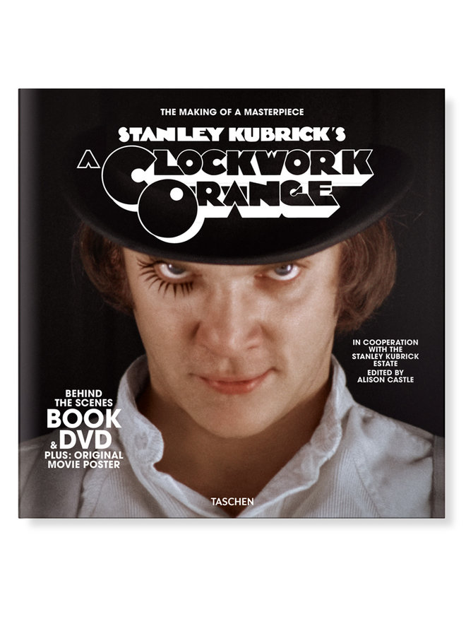 Stanley Kubrick's A Clockwork Orange Book + DVD Set