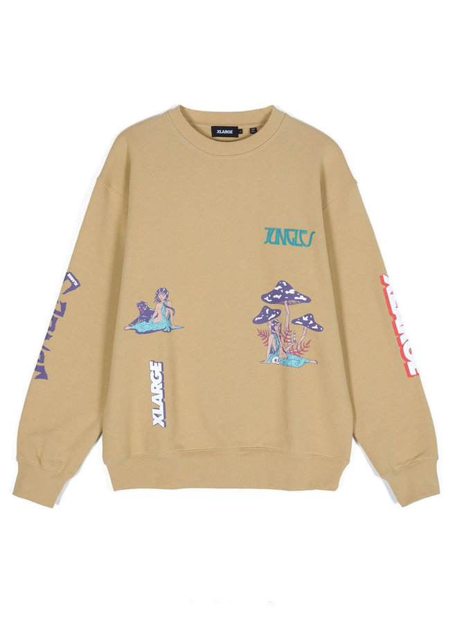 x Jungles Relaxed Woman Crew Neck