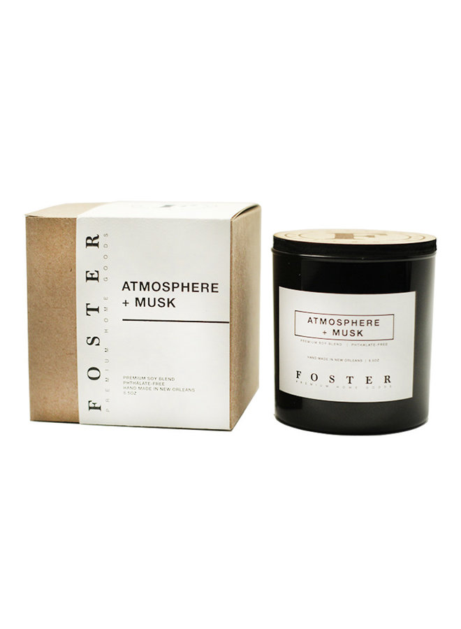Premium Soy Candle Atmosphere + Musk