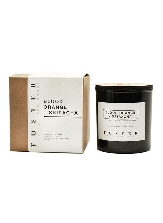 Premium Soy Candle Blood Orange + Siracha