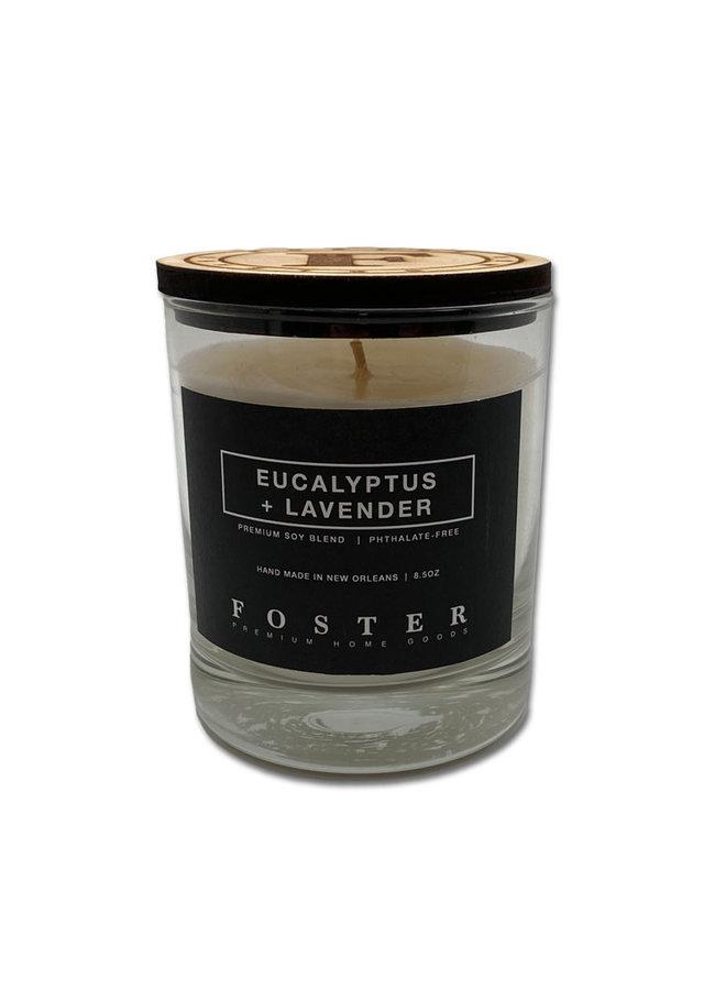 Premium Soy Candle Eucalyptus + Lavender