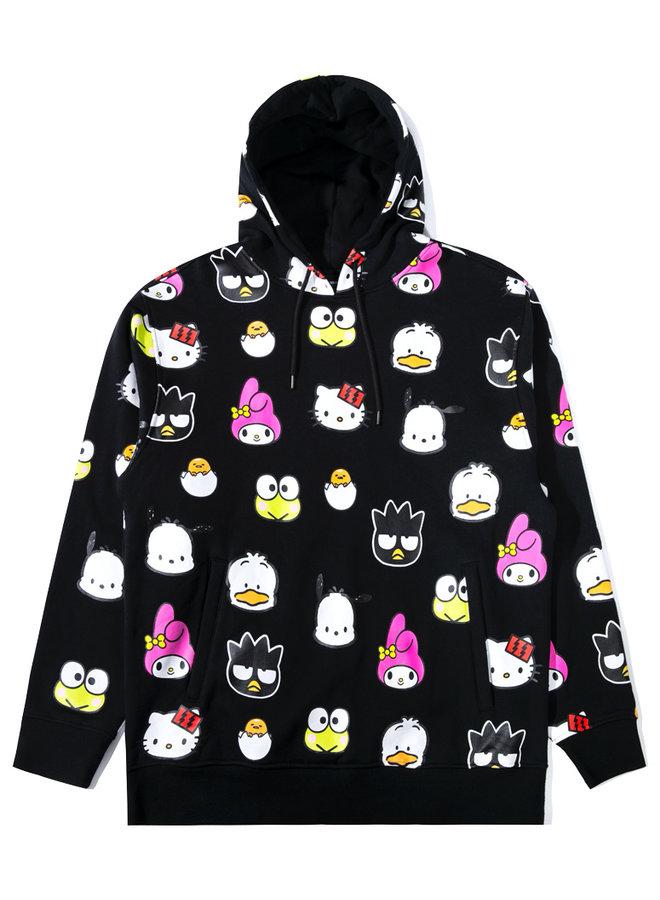 x Sanrio Head Pullover