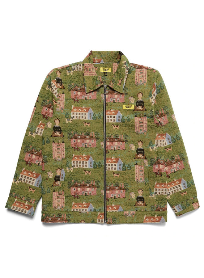 Woven Tapestry Jacket