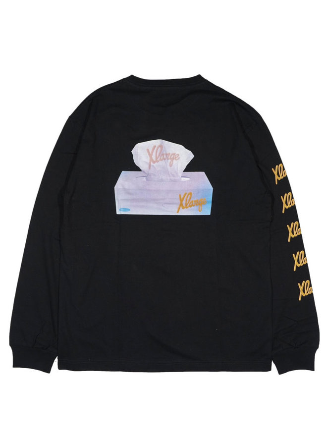 Tissue Paper Long Sleeve T-Shirt