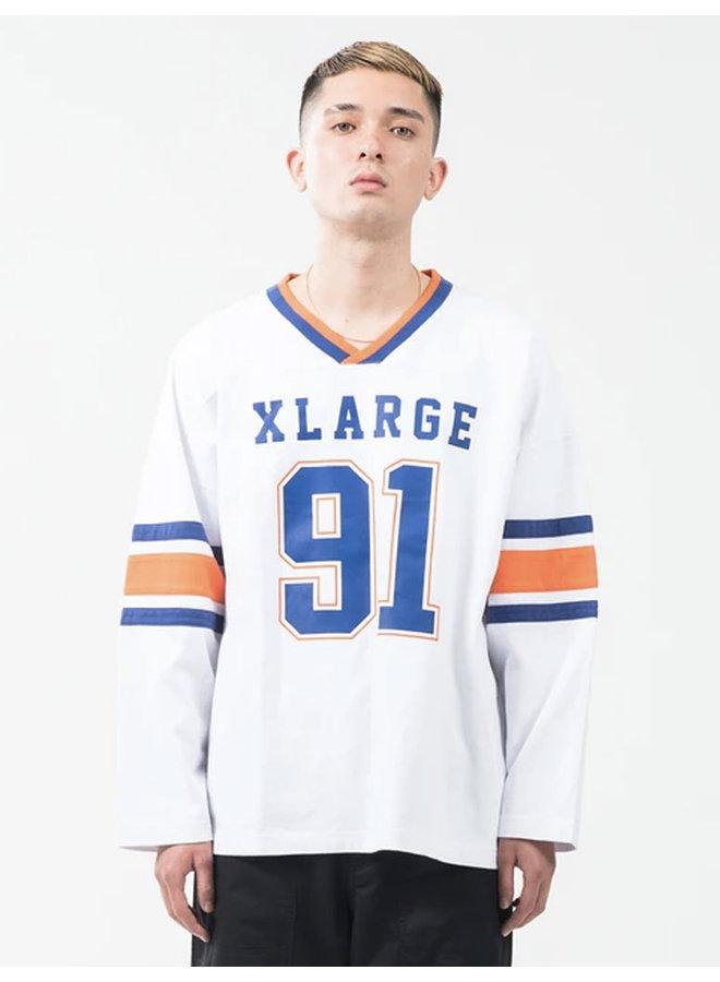 Wide Football Long Sleeve T-Shirt