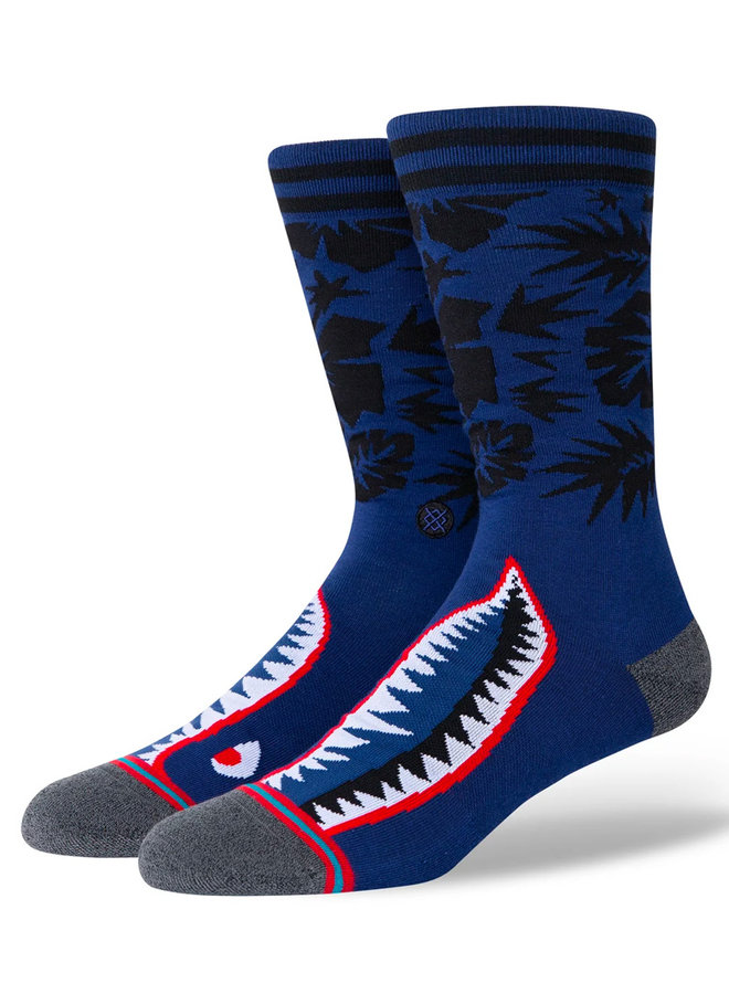 Tropical Warbird Socks