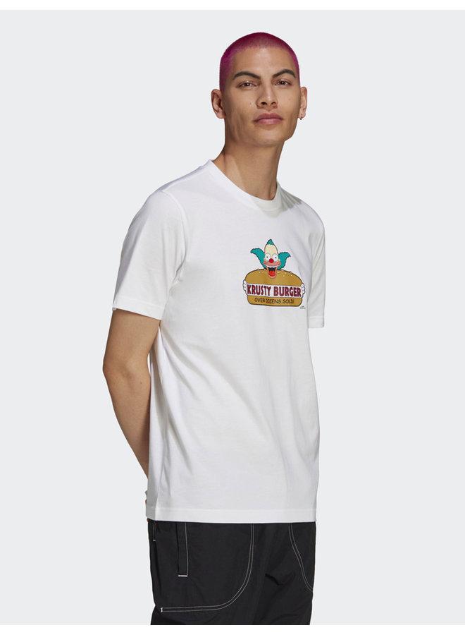 x The Simpsons Krusty Burger T-Shirt
