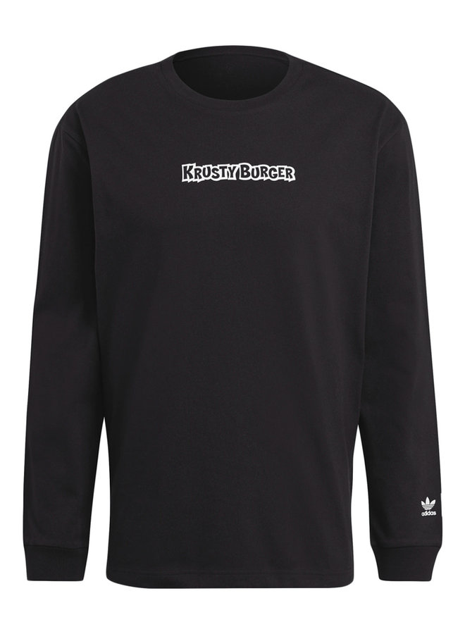 x The Simpsons Krusty Burger Long Sleeve T-Shirt