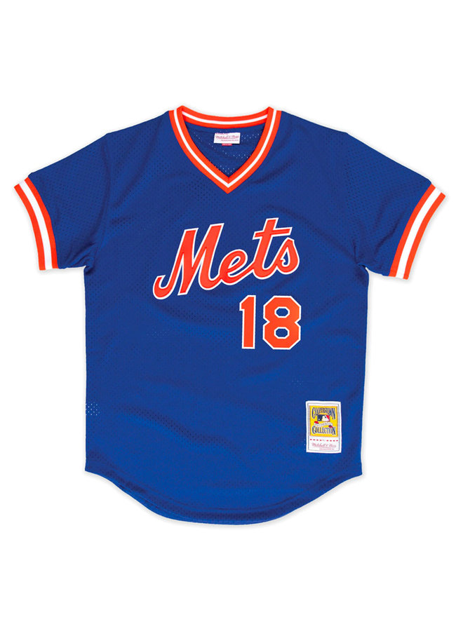 Authentic Darryl Strawberry New York Mets 1986 BP Jersey