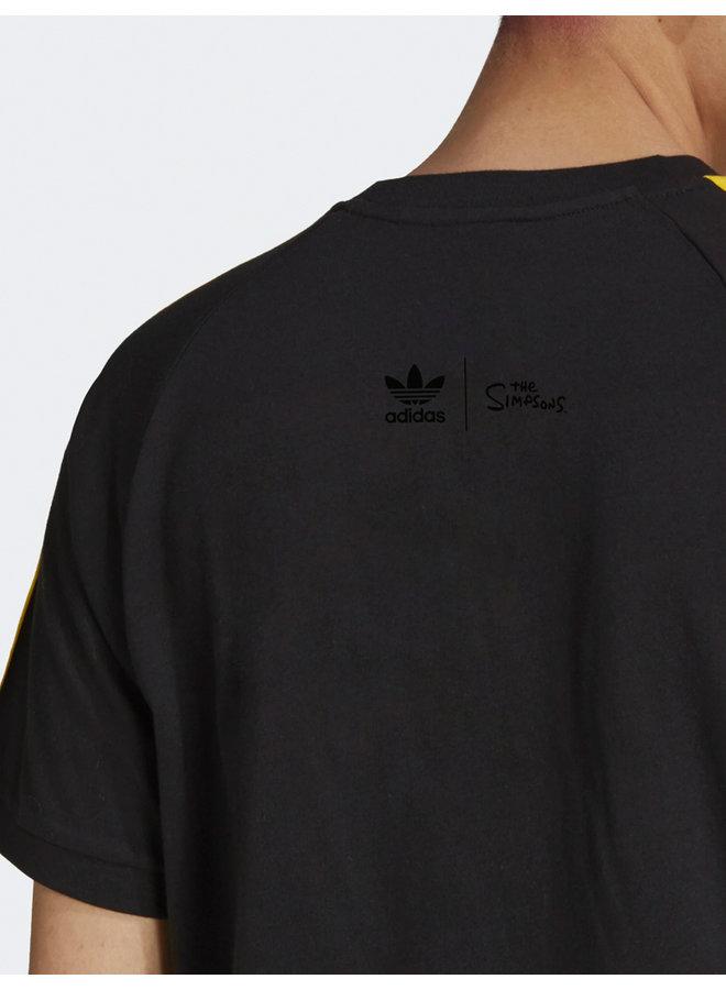 x The Simpsons 3 Stripes T-Shirt