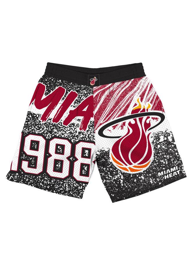 Jumbotron Sublimated Shorts Miami Heat