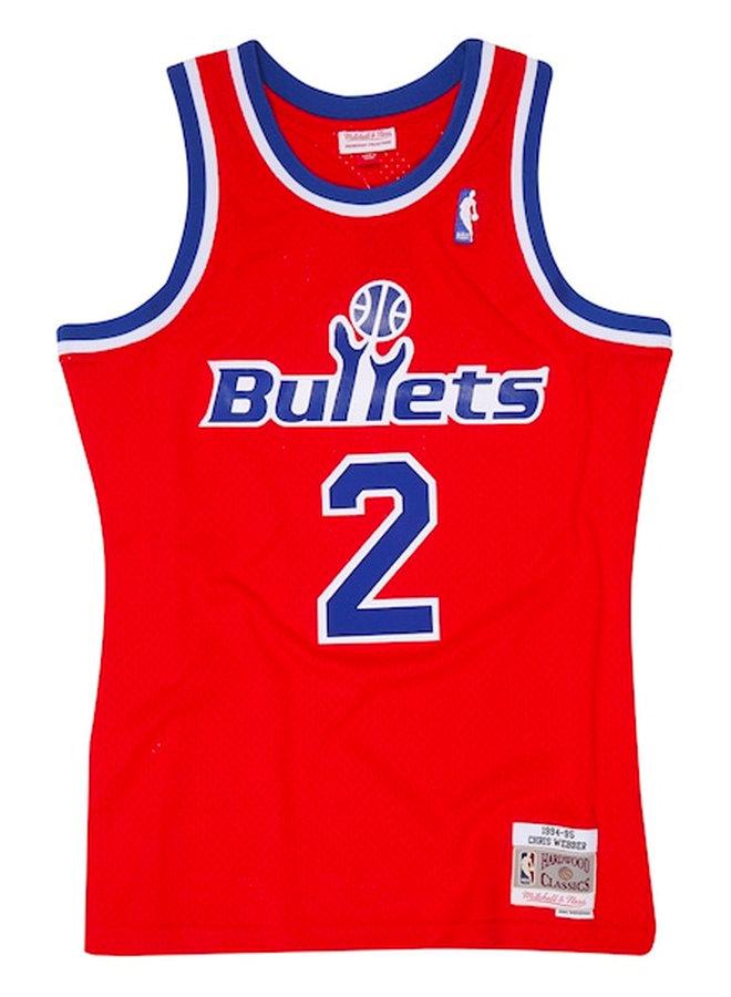 Swingman Road Jersey Bullets 94