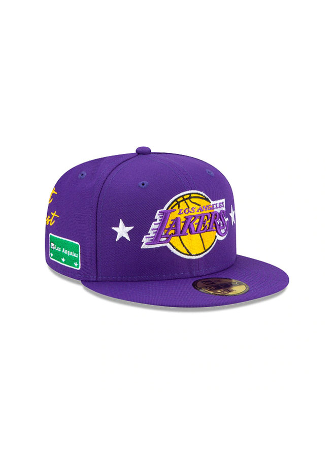 Los Angeles Lakers City Transit 59 Fifty Fitted