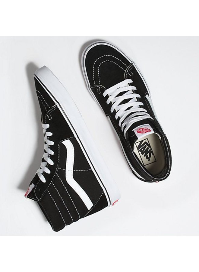 Sk8-Hi (Black/White)