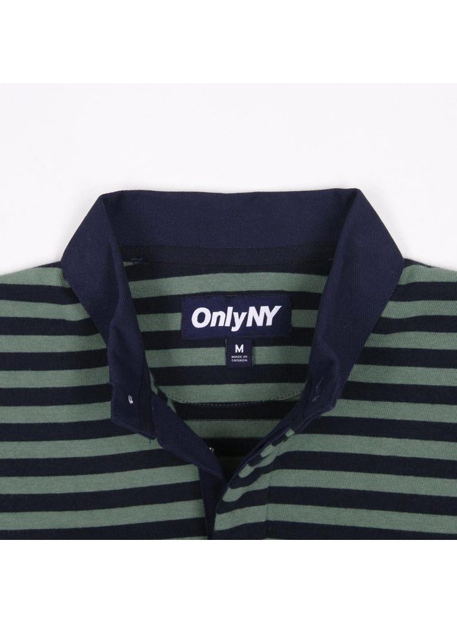Stripe Prm Knit Rugby