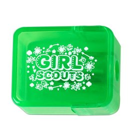 GIRL SCOUTS OF THE USA Green Pencil Sharpener