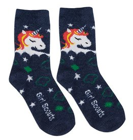Cozy Unicorn Crew Sock