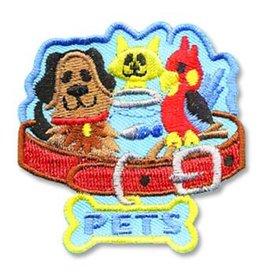 Pets Cat Dog Bird Fish Fun Patch