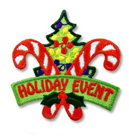 Holiday Event Christmas Fun Patch