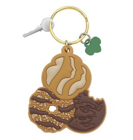 GIRL SCOUTS OF THE USA Girl Scout Cookies Key Ring