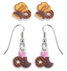 GIRL SCOUTS OF THE USA Cookie Earring Set