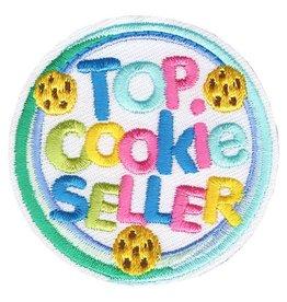 Advantage Emblem & Screen Prnt Top Cookie Seller Neon Fun Patch