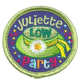 Advantage Emblem & Screen Prnt Juliette Low Party Circle Fun Patch