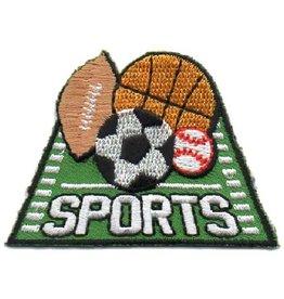 Sports Soccer Baseball Football Basketball Fun Patch