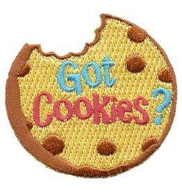 Advantage Emblem & Screen Prnt Got Cookies? Fun Patch