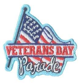 Advantage Emblem & Screen Prnt Veteran's Day Parade w/ Flag Fun Patch
