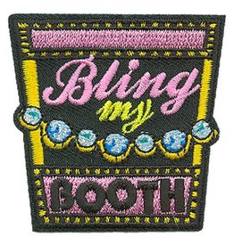 Advantage Emblem & Screen Prnt Bling My Booth Cookie Fun Patch