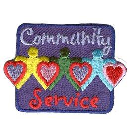 Advantage Emblem & Screen Prnt Community Service Fun Patch