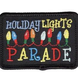 Christmas Holiday Lights Parade Fun Patch