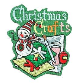 Advantage Emblem & Screen Prnt Christmas Crafts Fun Patch